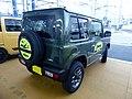 Suzuki Jimny XC (3BA-JB64W-JXCR-J) rear.jpg