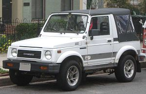 Suzuki Motor Corp. v. Consumers Union of the U.S., Inc. - US-market Suzuki Samurai