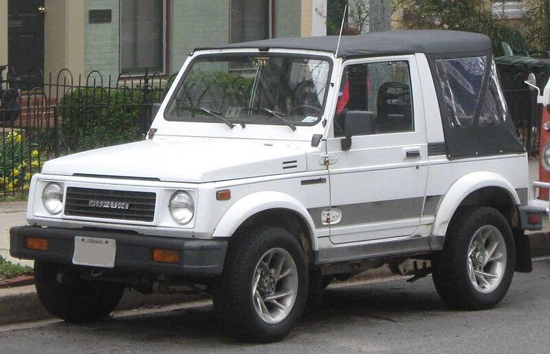 File:Suzuki Samurai .jpg