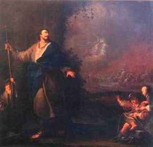 Ignác Raab - St. James the Greater by Ignác Viktorin Raab