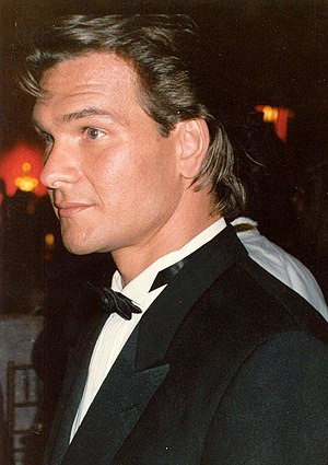 Patrick Swayze at the 61st Academy Awards.