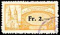 Switzerland Basel 1911 registry office revenue 2Fr - 5a.jpg
