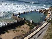 An Ocean pool in Sydney, New South Wales, Australia