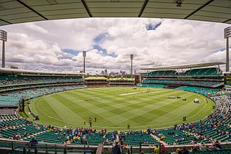 Sydney Cricket Ground - During the 2015 Cricket World Cup Semi-final between Australia and India