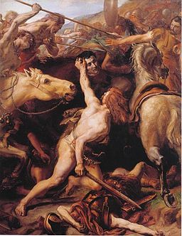 Sylvestre Ducar decapite Flaminius (Trasimene)