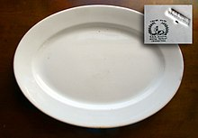 10 x13  ironstone serving platter made by T. u0026 R. BOOTE Burslem c1870 : ironstone tableware made in italy - pezcame.com
