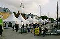 Tält i Visby hamn Almedalsveckan 2014 Visby.jpg