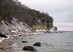 Türisalu cliff, Dec 2009 2.jpg