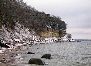 Türisalu - Türisalu cliff