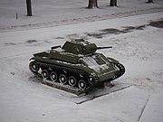 T-70 in Velikiy Novgorod