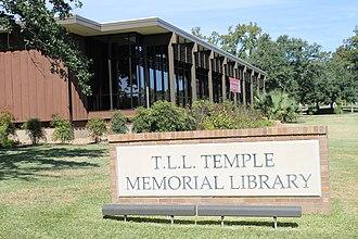 Diboll, Texas - T.L.L. Temple Memorial Library