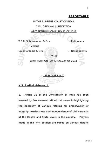 File:T.S.R. Subramanian vs Union of India.pdf