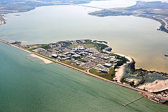 Texas A&M University System - Image: TAMUCC island