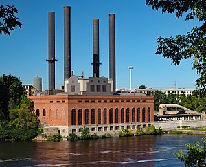 Southeast Steam Plant - View from the southwest