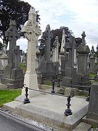 TH Burke Grave.JPG