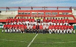 America Football Club (Rio de Janeiro) - Team photo from the 2009 season