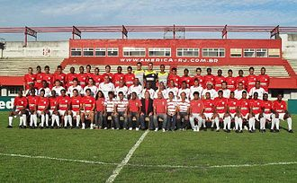 America Football Club (Rio de Janeiro) - Team photo from the 2009 season