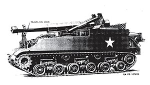 M43 Howitzer Motor Carriage -  M43