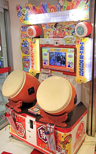 Taiko no Tatsujin - A Taiko no Tatsujin (2011) arcade cabinet