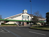Takasaka Station West Entrance 20120326.JPG