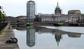 Talbot Memorial Bridge, The Custom House & River Liffey, Dublin (507171) (32837616275).jpg