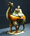 Tang sancai camel with persian merchant.JPG