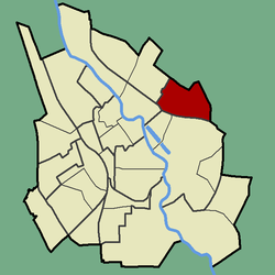 Location of Jaamamõisa in Tartu.