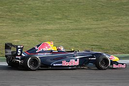 Carlos Sainz jr. op de Hockenheimring in 2011.