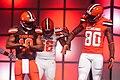 Taylor Gabriel Dwayne Bowe Cleveland Browns New Uniform Unveiling (16946990547).jpg