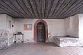 Techelsberg Sankt Bartlmä Filialkirche hl. Bartholomäus Vorlaube mit Westportal 18022007 7215.jpg