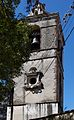 Templo y Ex Convento de San Francisco de la Asunción de Nuestra Señora, Tlaxcala, Tlax. México. (Torre exenta detalle 2).jpg