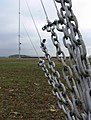 Temporary wind turbine test mast - geograph.org.uk - 605874.jpg