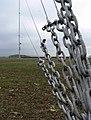 Temporary wind turbine test mast - geograph.org.uk - 605874.jpg
