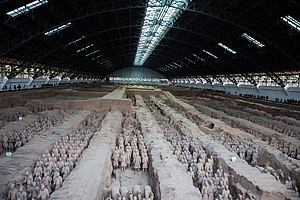 Terracotta Army - Image: Terracotta Army, View of Pit 1
