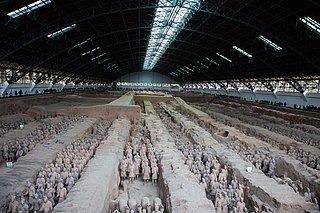 Terracotta Army Collection of ancient Chinese military statues