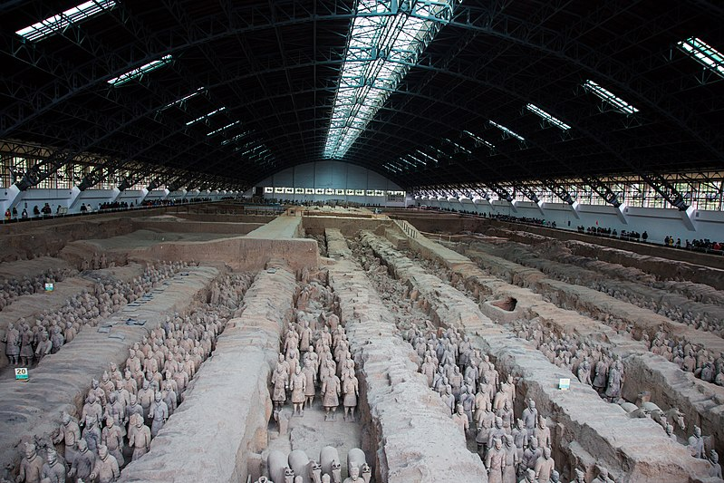 Terracotta Army 800px-Terracotta_Army%2C_View_of_Pit_1