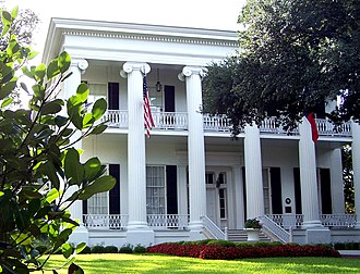 Texas Governor's Mansion - The Texas Governor's Mansion in 2006.