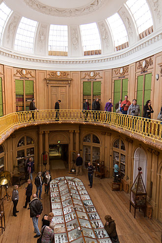 Teylers Oval Room - Picture taken during a rare tour of the gallery