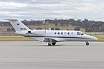 Teys Australia (VH-TEY) Cessna 525A CitationJet CJ2 at Wagga Wagga Airport (2).jpg