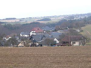 Thörlingen - Thörlingen lies at the edge of the Baybach valley.