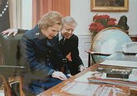 fotografia de Thatcher e Carter