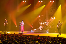 The Cranberries med koncertom v Parizu, 2010