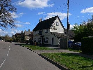 Little Paxton village in the United Kingdom