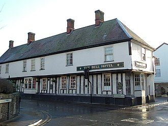 Bell Hotel, Thetford - Image: The Bell Hotel geograph.org.uk 995446