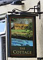 The Cottage Sign - geograph.org.uk - 1438321.jpg