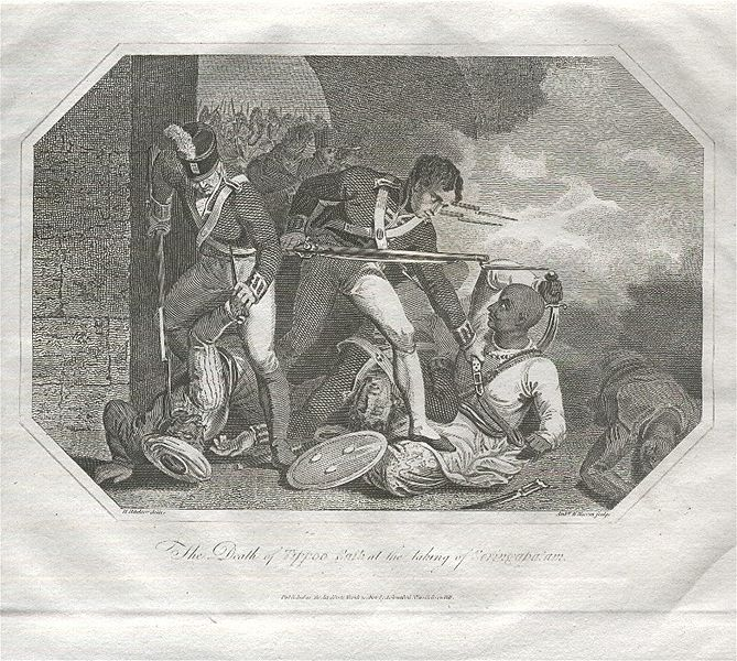 ファイル:The Death of Tipu Sultan.jpg
