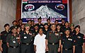 The Defence Minister, Shri A. K. Antony and the Chief of Army Staff, Gen. V. K. Singh with team members of Indian Army Mountaineering, at a flagging-in ceremony, in New Delhi on June 14, 2011.jpg