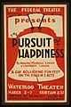 "The Federal Theatre Div. of W.P.A. presents ""The pursuit of happiness"" by Armina Marshall Langer & Lawrence Langer LCCN98512454.jpg"