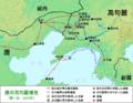 The First Goguryeo-Tang War (645) ja.png