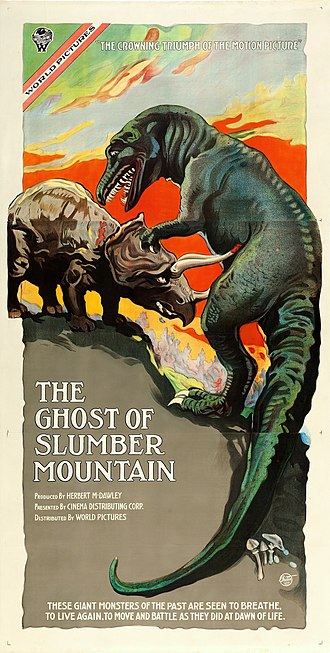 The Ghost of Slumber Mountain - Theatrical poster to The Ghost of Slumber Mountain